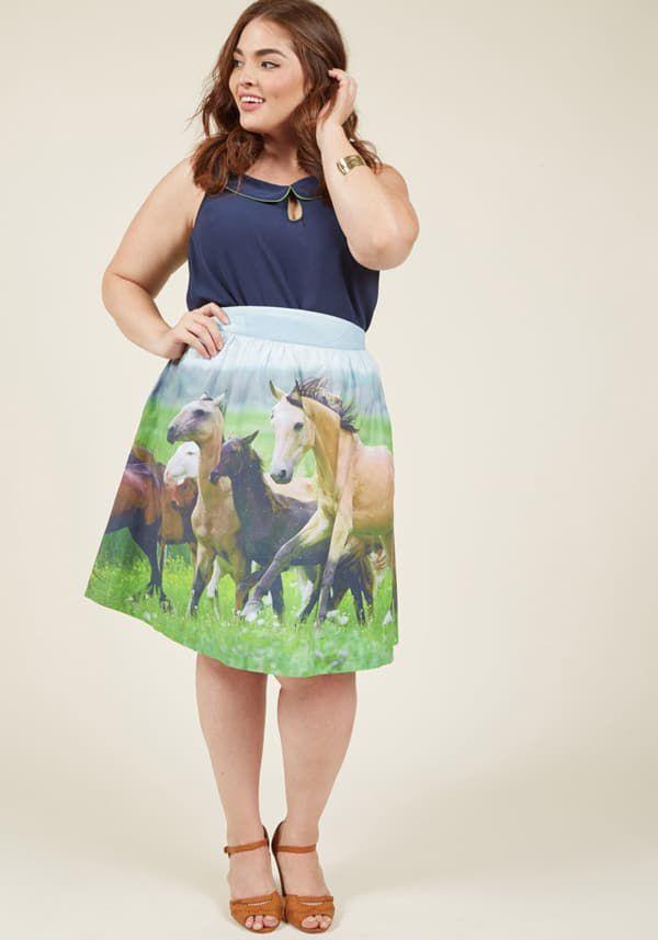 A-Line-skirt