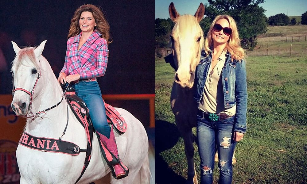 Country stars Country Singers Horses Equestrians Cowgirl Magazine