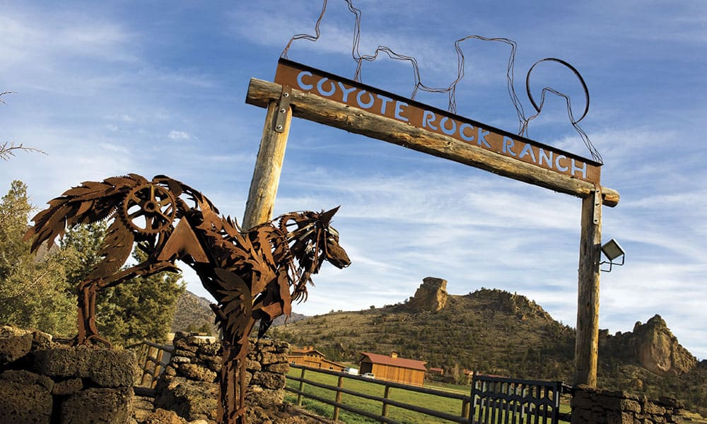 Coyote Rock Ranch western homes cowgirl magazine