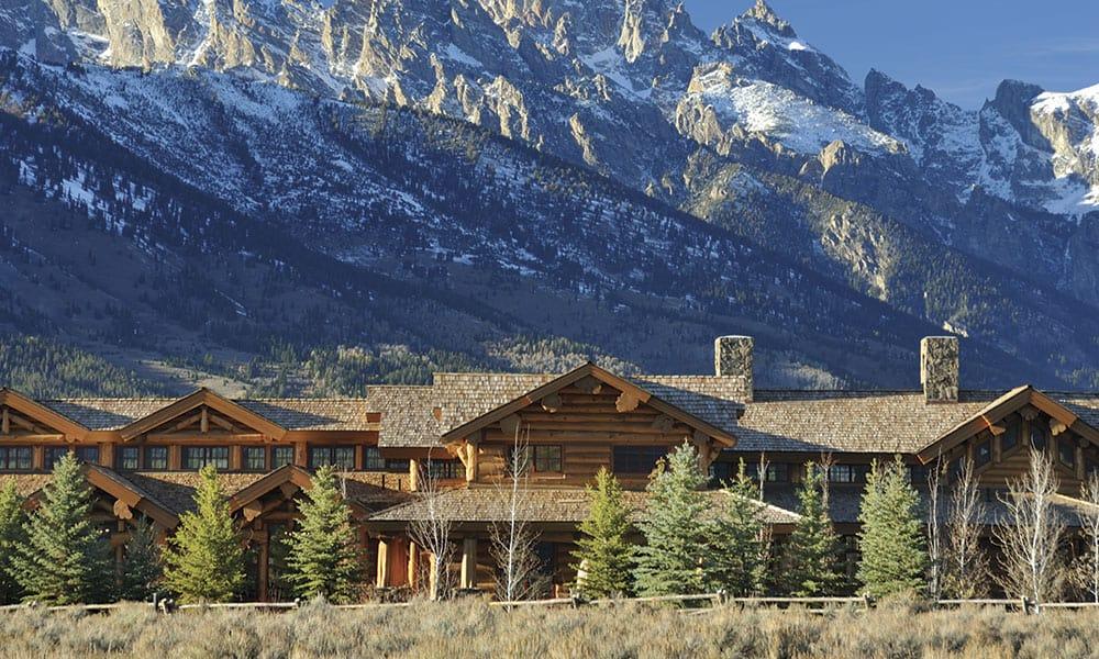 Bighorn Lodge Wyoming Western Homes Cowgirl Magazine