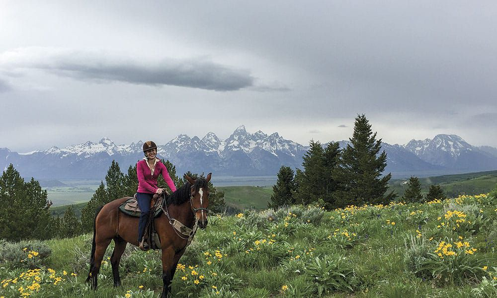 Jackson Wyoming Horseback Riding Horses Travel Darley Newman Cowgirl Magazine