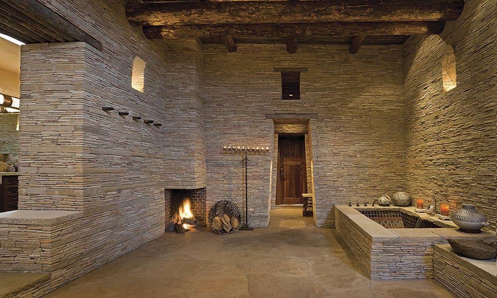 Rancho Alegre Santa Fe House Rustic Homes Cowgirl Magazine