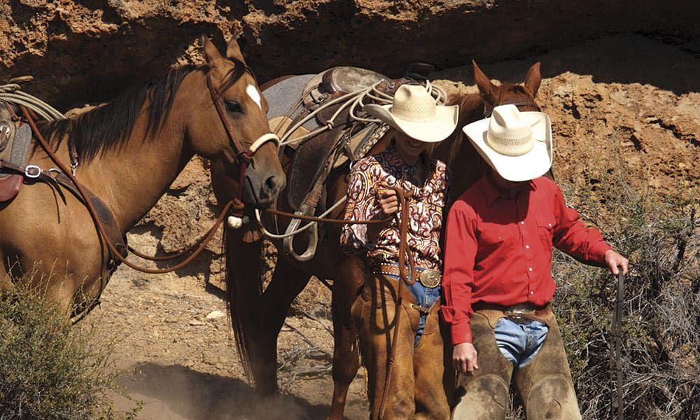 Trail Riding Horses Equestrian Cowgirl Magazine