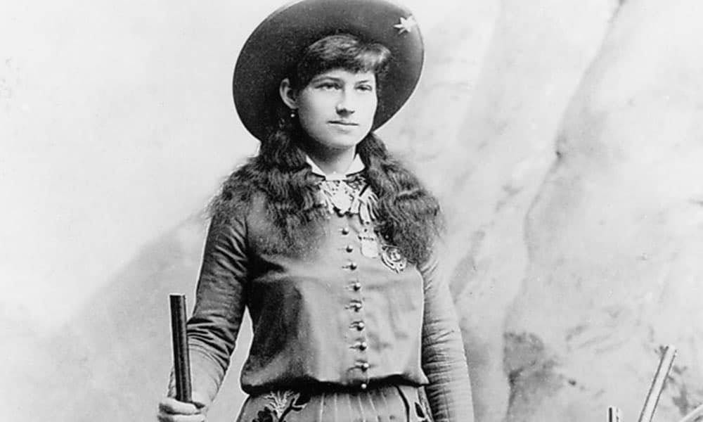 Annie Oakley Wild Women Wednesday Sharpshooter Cowgirl Magazine