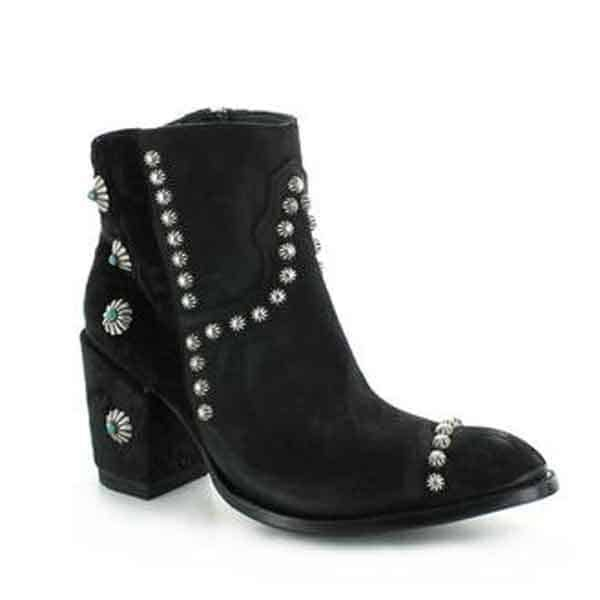 double d ranchwear old gringo boot boots velvet suede studs studded cowgirl magazine western fashion