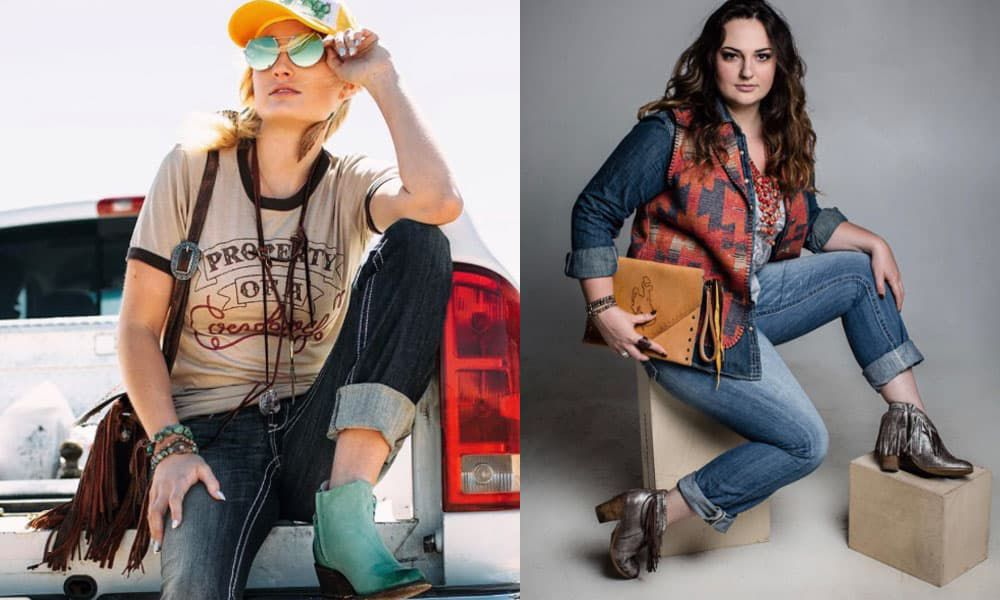 booties bootie booty boot boots ankle boot ankle boots ankle booties ankles fall autumn western wear cowgirl magazine