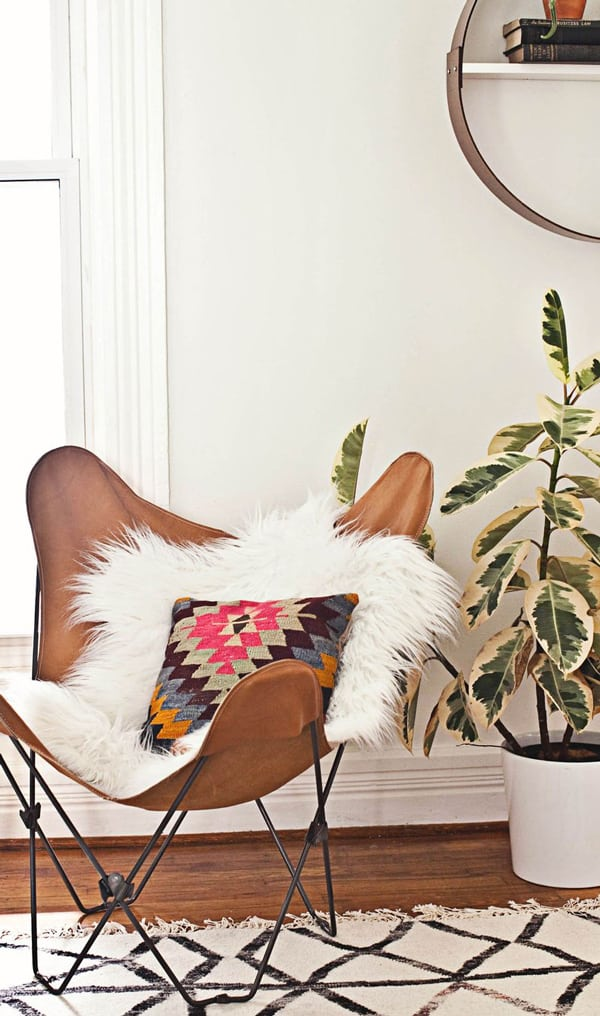 butterfly chair cowgirl magazine western home decor