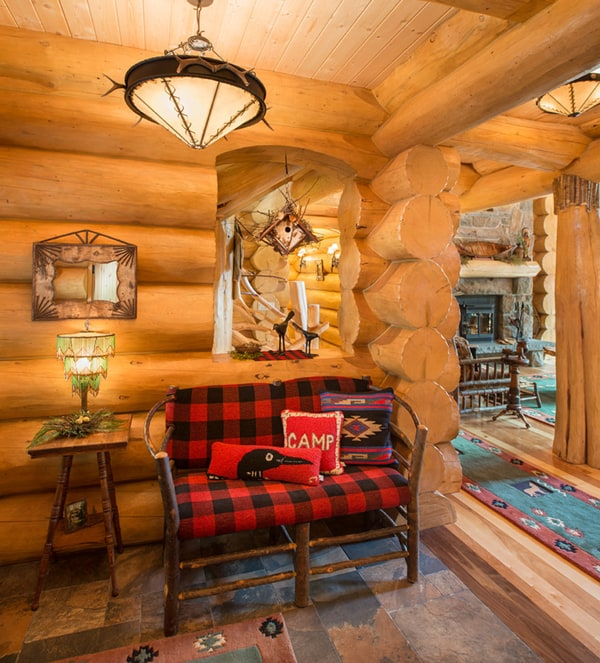 Mad For Plaid Home Decor Log Cabin Cowgirl Magazine