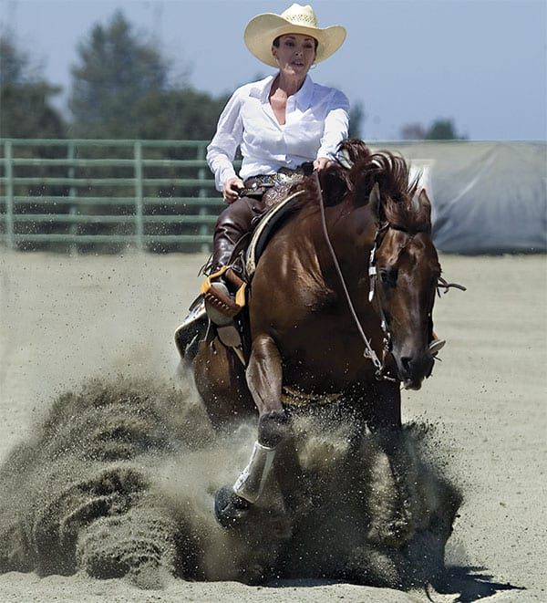 reining horse shows cowgirl magazine