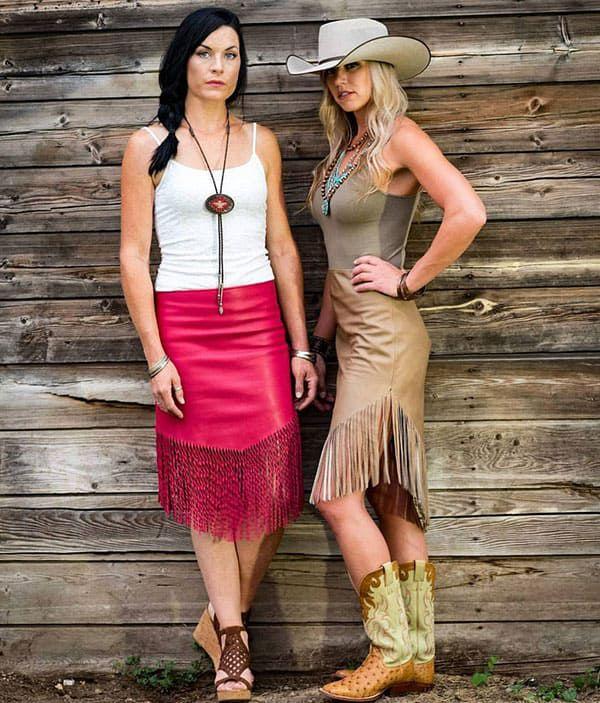 Ranch rouge western fashion fringe cowgirl magazine