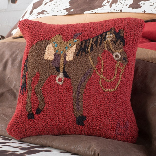 hooked-horse-pillow