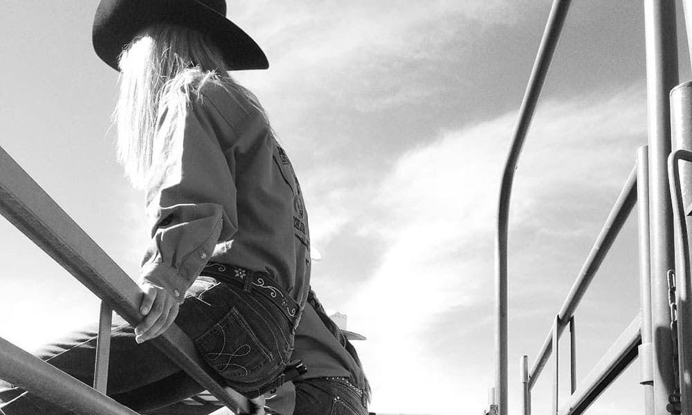 Riding Jean Wrangler Kimes Ranch Cowgirl Magazine