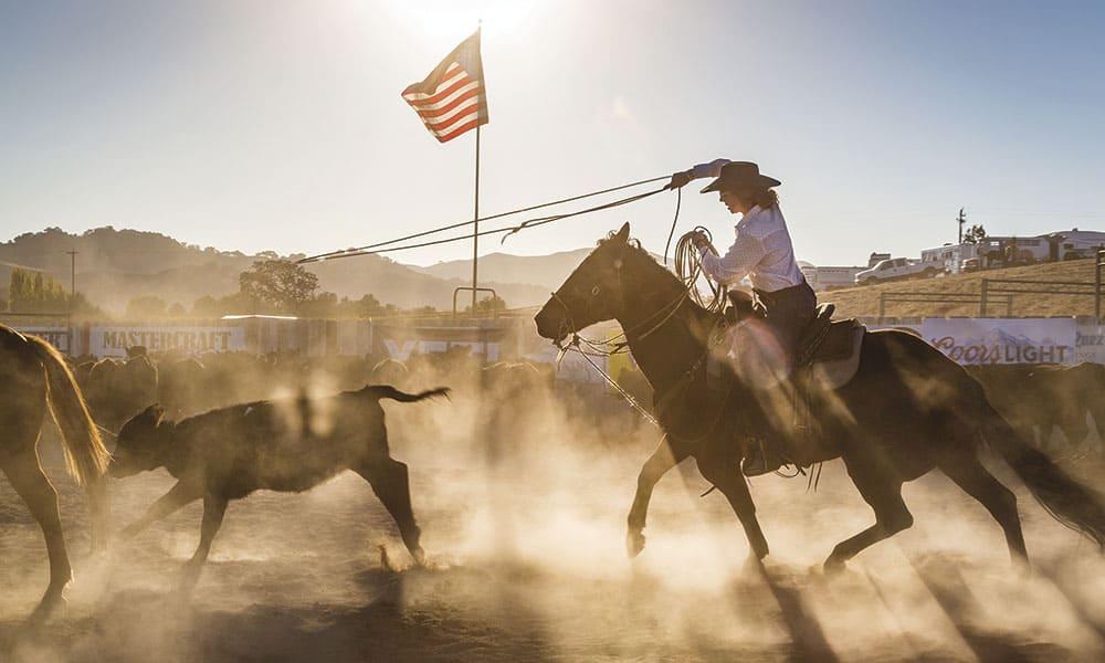 Brannaman Roping cowgirl magazine