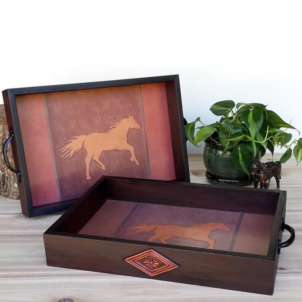 running-horse-tray