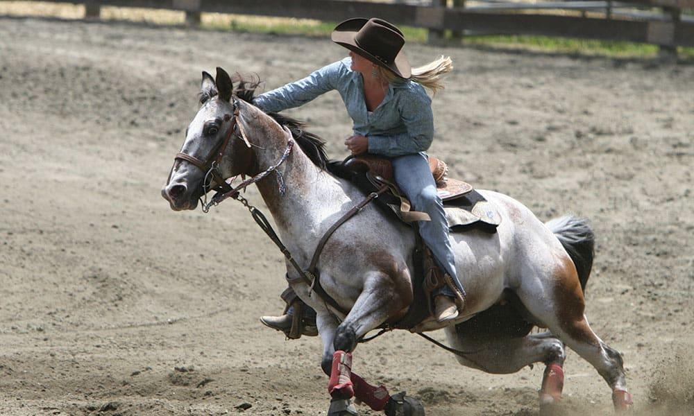 breakaway stirrups horses cowgirl magazine