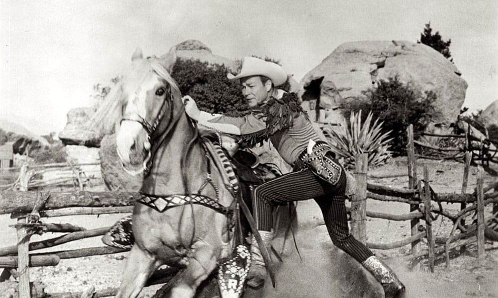 Roy rogers Trigger Horse Hollywood Western Film Star Cowgirl Magazine