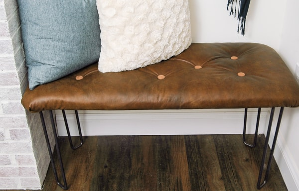 Leather Bench DIY Cowgirl Magazine