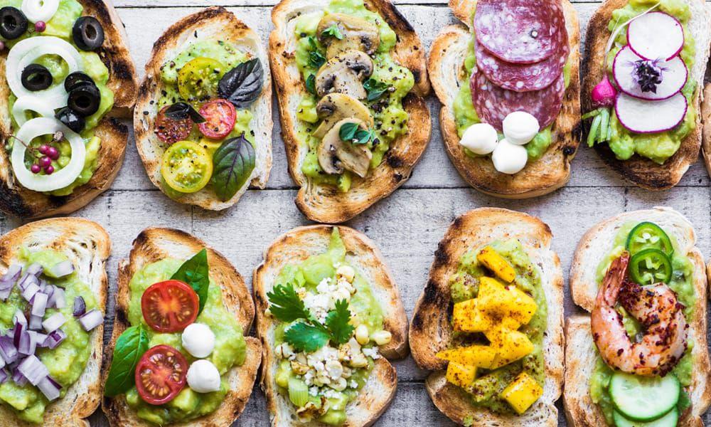 Guacamole appetizers