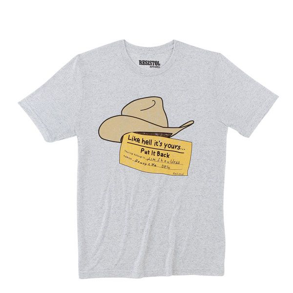 graphic tees resistol graphic tee tees t-shirt hatco hat-co Charlie 1 horse stetson garland cowgirl magazine