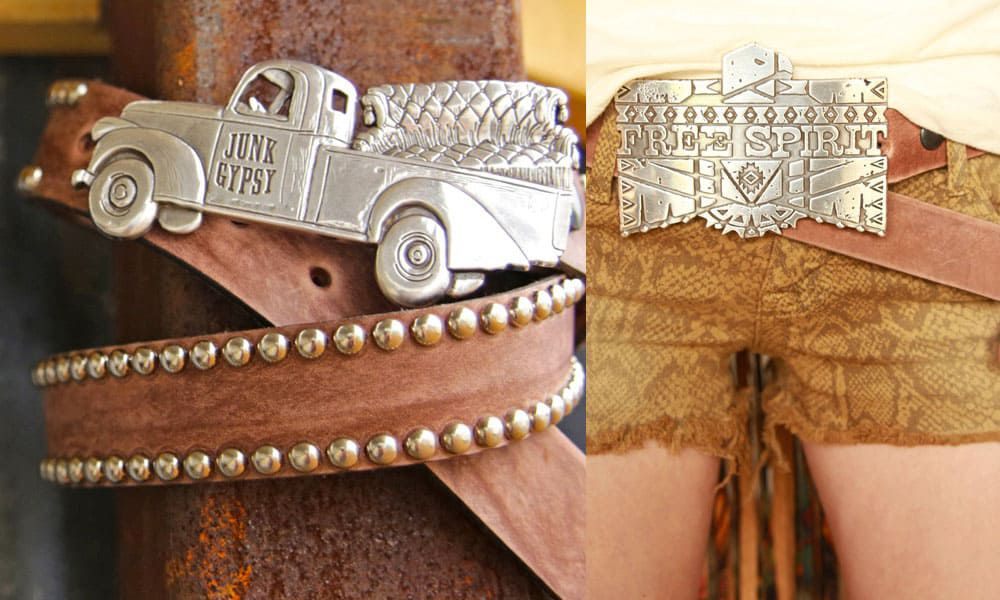 beautiful belt buckles