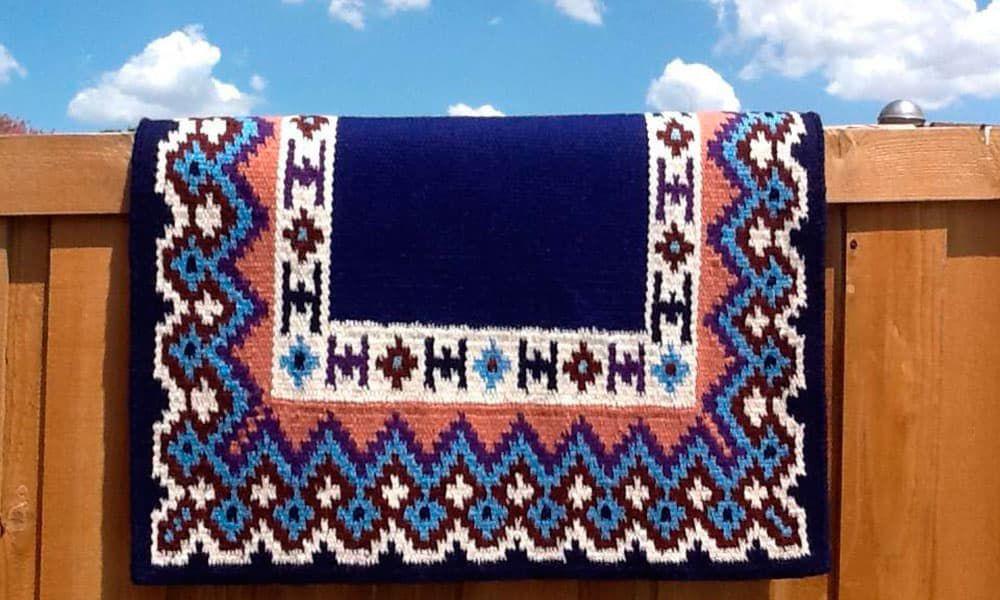 Blue Saddle Blankets Cowgirl Magazine