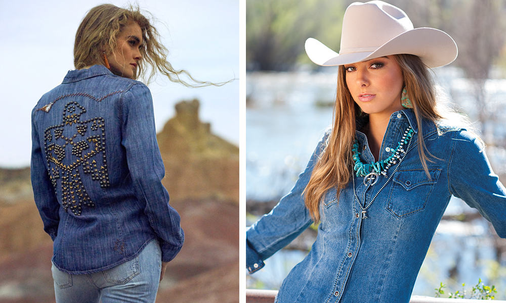 denim tops cowgirl magazine