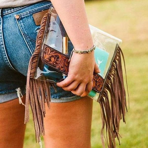 NFR Clear Bags Purses Cowgirl Magazine