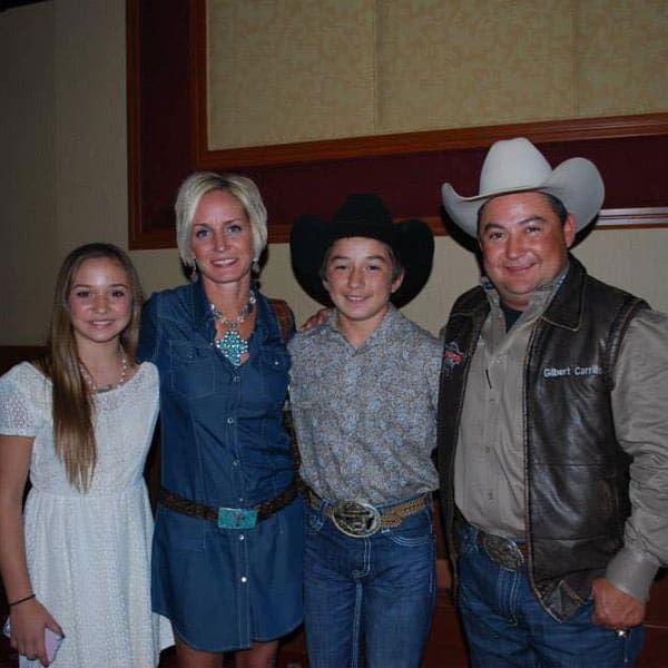 Julie carillo Gilbert chase Cheney cowboy capital of the world rodeo prca pbr cbr bull riding bull bulls bull ridings