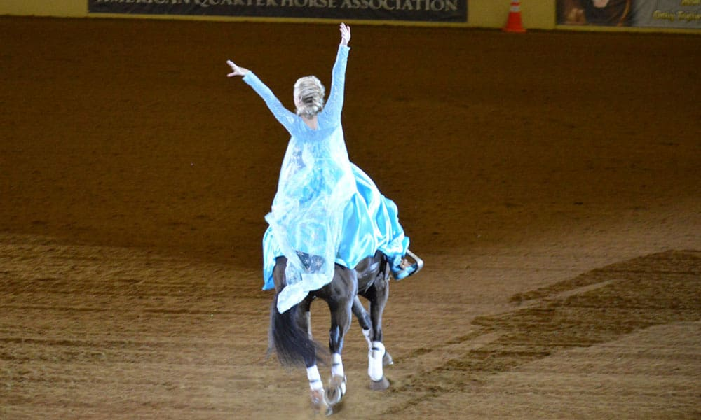 freestyle reining Cowgirl Magazine