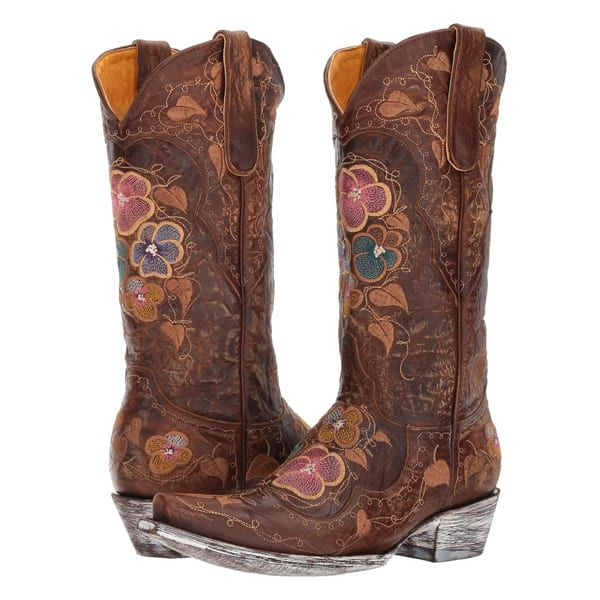 floral boots cowgirl magazine