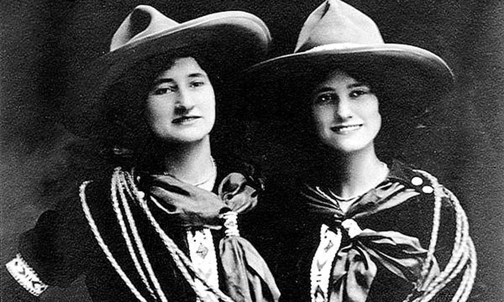 Juanita Parry Ethyle Parry Cossack Girls Cowgirl Magazine