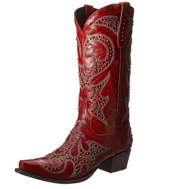red boots cowboy boots cowgirl magazine