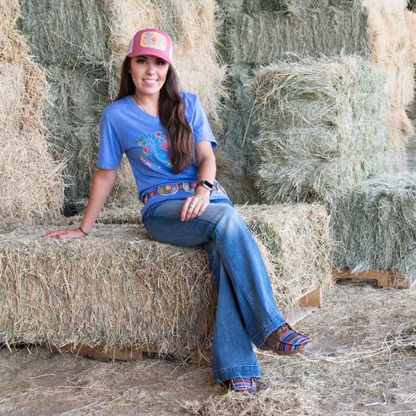 mcintire saddlery tee t-shirt patch cap caps ball cap twisted x sevens jeans tony lama belt cowgirl magazine