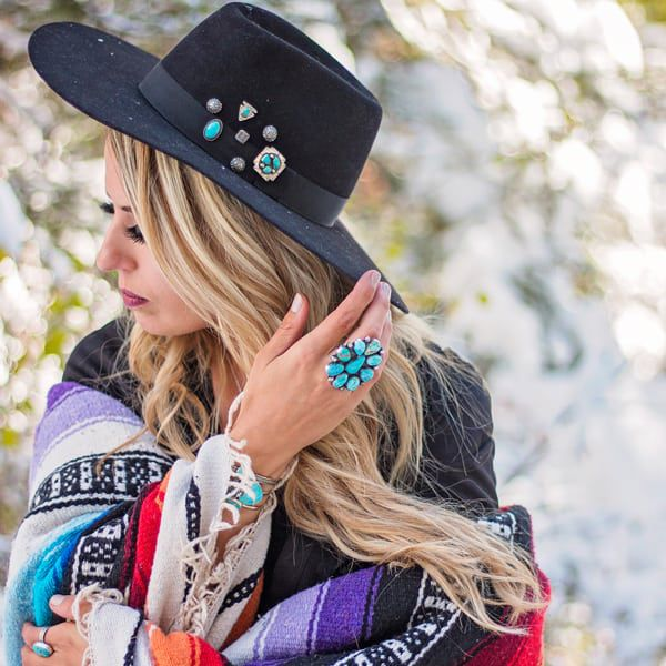 prairie sky jewelry company turquoise photo shoot cowgirl magazine
