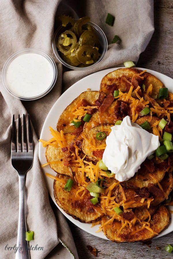 Oven-Baked-Loaded-Potato-Nachos