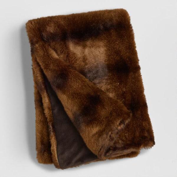 chocolate-faux-fur-throw