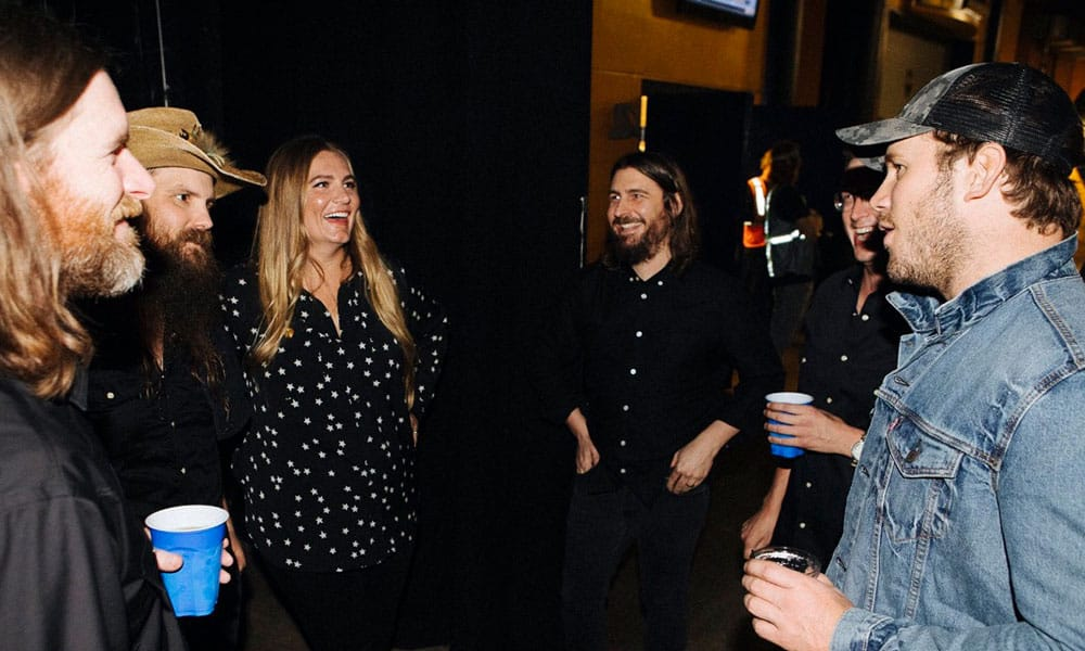 Chris Pratt Chris Stapleton Country Music Celebrities Cowgirl Magazine