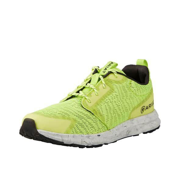 ariat fuse tennis shoes shoe running run runner serape pink cheetah lace