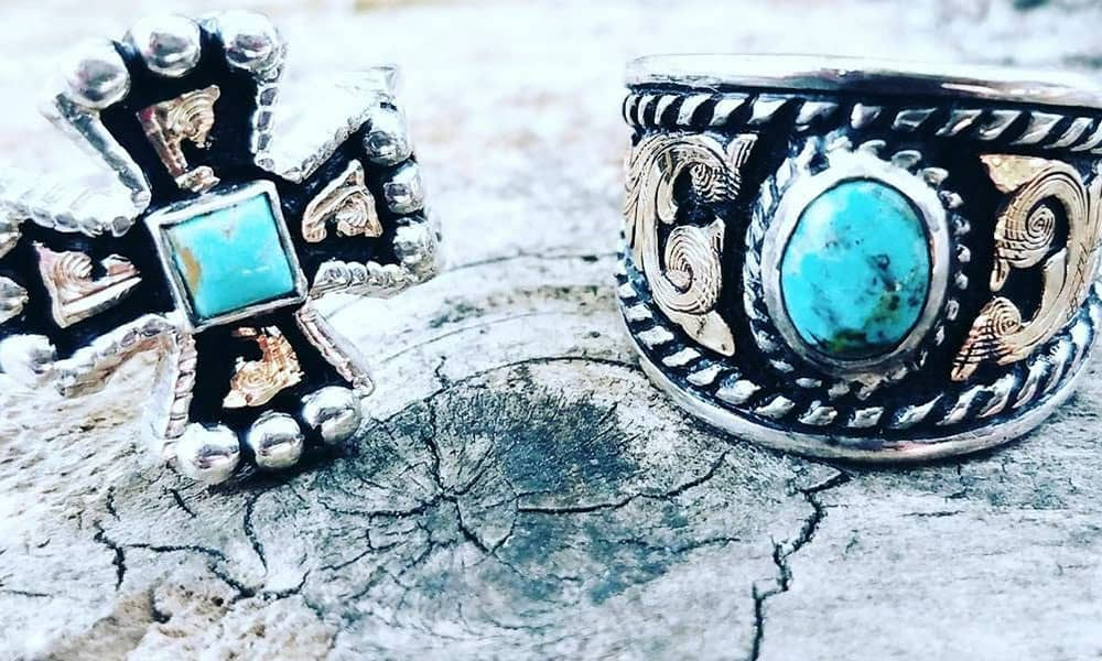 turquoise rings cowgirl jewelry cowgirl magazine
