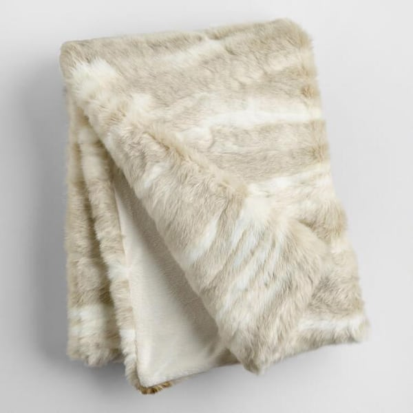 ivory-faux-fur-throw