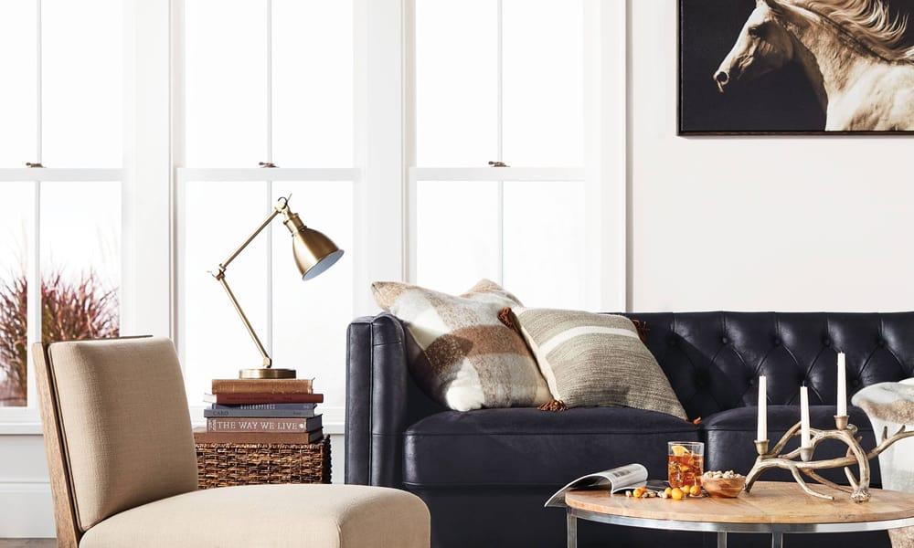 masculine living room set