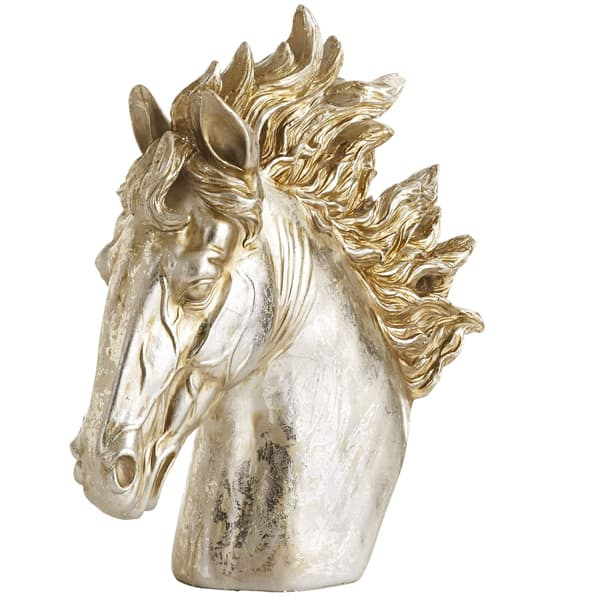 metallic-horse-head