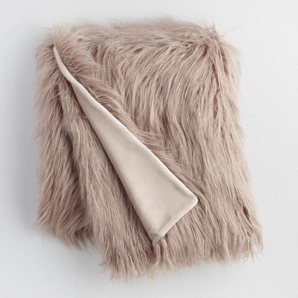 mocha-faux-fur-throw