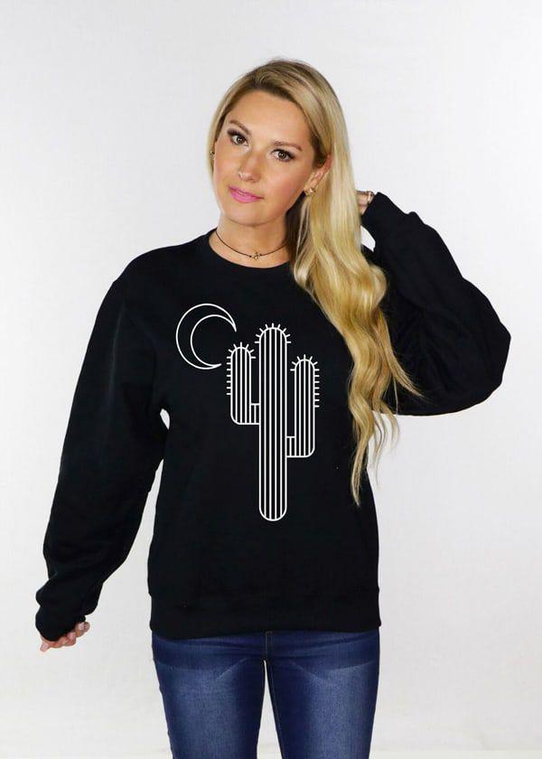 moonlit-cactus-sweatshirt