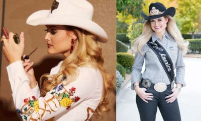 miss rodeo America western fashion top ten 10 outfits outfit ensemble wrangler clothing clothes apparel boot rugs greeley hat works cowgirl magazine