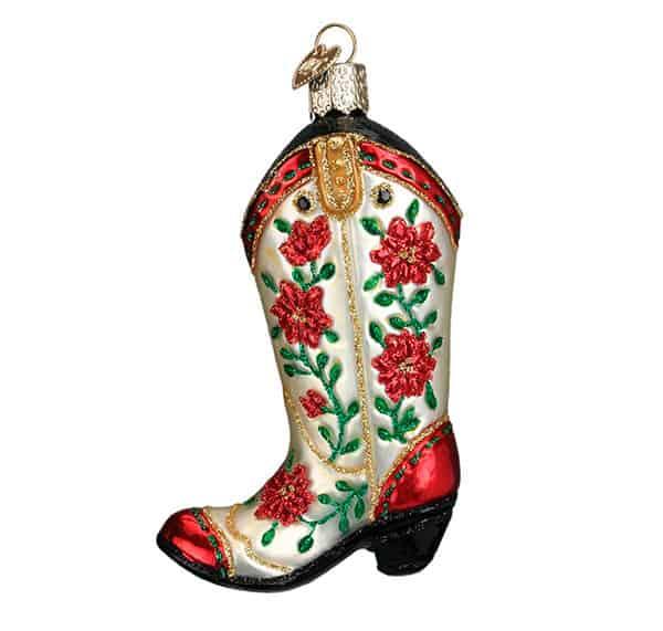 Cowboy Ornaments Christmas Tree Cowgirl Magazine