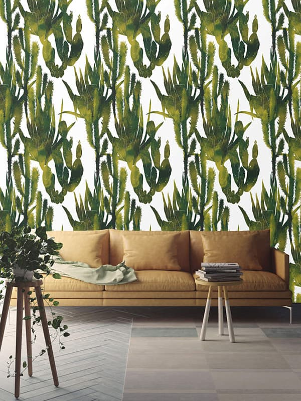 Dress Up Your Home With Cactus Wallpaper Cowgirl Magazine