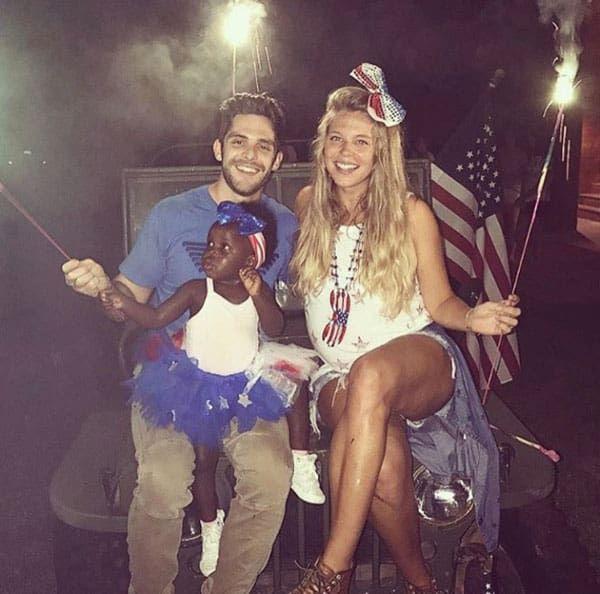 Thomas Rhett Family Lauren Akins Country Music Stars Cowgirl Magazine