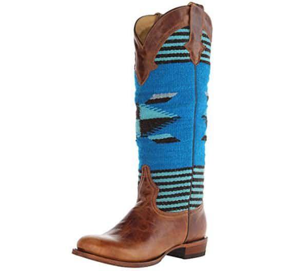 Serape cowboy boots cowgirl magazine