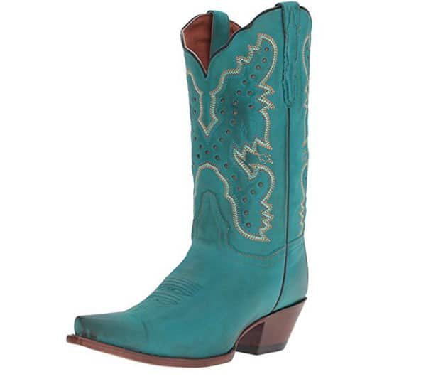 turquoise boots turquoise cowboy boots wedding boots cowgirl magazine